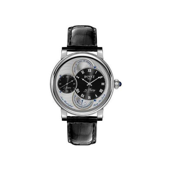 BOVET 19THIRTY FLEURIER STAINLESS STEEL 42MM MEN'S WATCH
