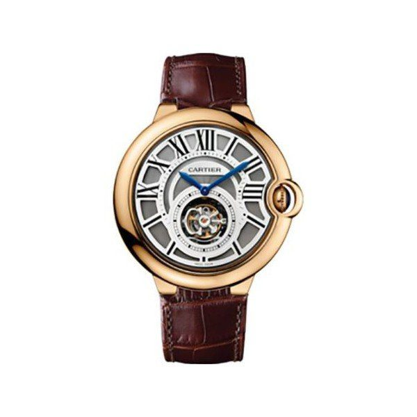 CARTIER BALLON BLEU 18KT ROSE GOLD 46MM MEN'S WATCH