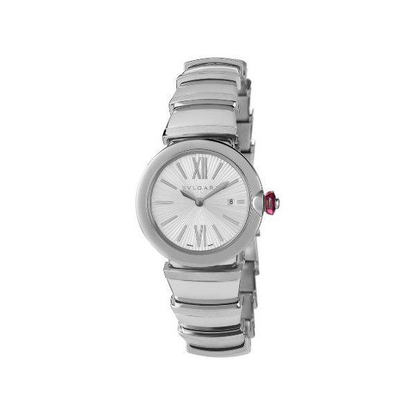 BVLGARI LUCEA STAINLESS STEEL 28MM LADIES WATCH