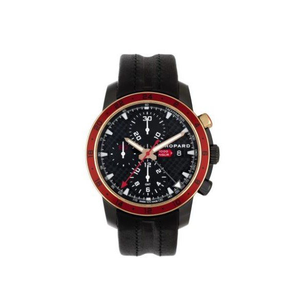 CHOPARD MILLE MIGLIA ZAGATO CHRONOGRAPH DLC-COATED STAINLESS STEEL 42.5MM MEN'S WATCH