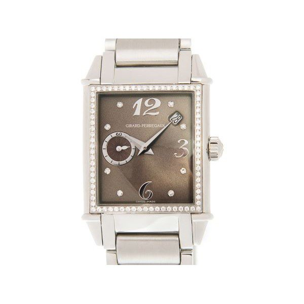 GIRARD PERREGAUX VINTAGE 1945 STAINLESS STEEL	28.2 x 28.6 x 10.45MM LADIES WATCH