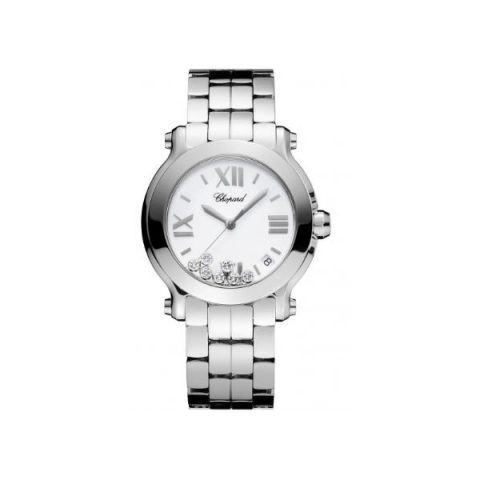 CHOPARD HAPPY SPORT STAINLESS STEEL 36MM LADIES WATCH