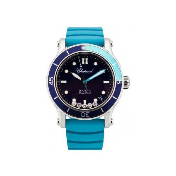 CHOPARD HAPPY OCEAN STAINLESS STEEL 40MM LADIES WATCH