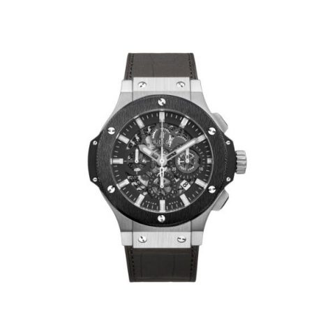 HUBLOT BIG BANG AERO STAINLESS STEEL 44MM MEN'S WATCH