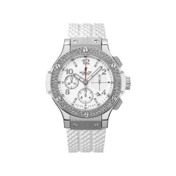 HUBLOT BIG BANG CHRONOGRAPH STAINLESS STEEL 41MM LADIES WATCH