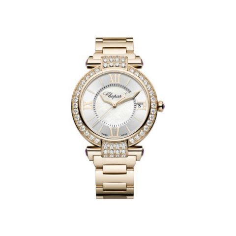 CHOPARD IMPERIALE 18KT ROSE GOLD 40MM LADIES WATCH