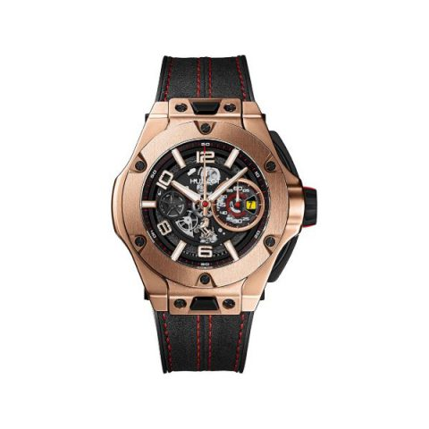 HUBLOT BIG BANG UNICO FERRARI LIMITED EDITION OF 500 PIECES 18KT ROSE GOLD 45MM MEN'S WATCH