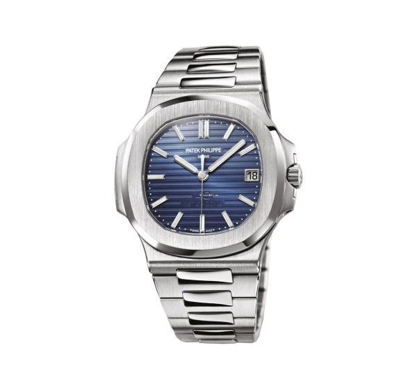 PATEK PHILIPPE NAUTILUS 40TH ANNIVERSARY LIMITED EDITION OF 700 PIECES PLATINUM MEN'S WATCH Ref. 5711/1P-001