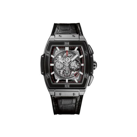 HUBLOT SPIRIT OF BIG BANG CHRONOGRAPH TITANIUM 45MM MEN'S WATCH
