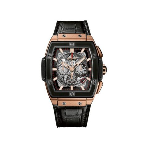 HUBLOT SPIRIT OF BIG BANG CHRONOGRAPH 18KT ROSE GOLD 45MM MEN'S WATCH