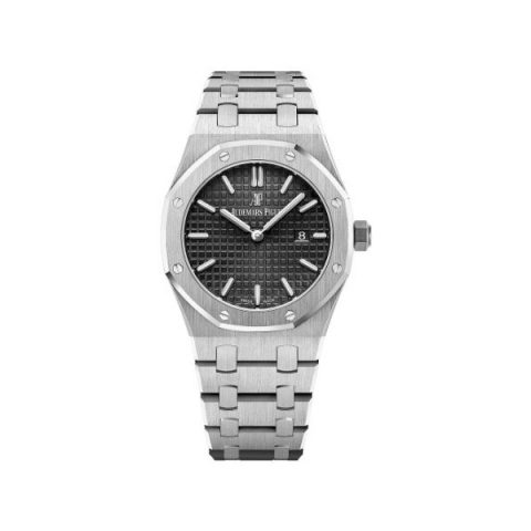 AUDEMARS PIGUET ROYAL OAK STAINLESS STEEL 33MM LADIES WATCH