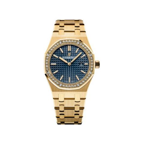 AUDEMARS PIGUET ROYAL OAK 18KT YELLOW GOLD 33MM LADIES WATCH