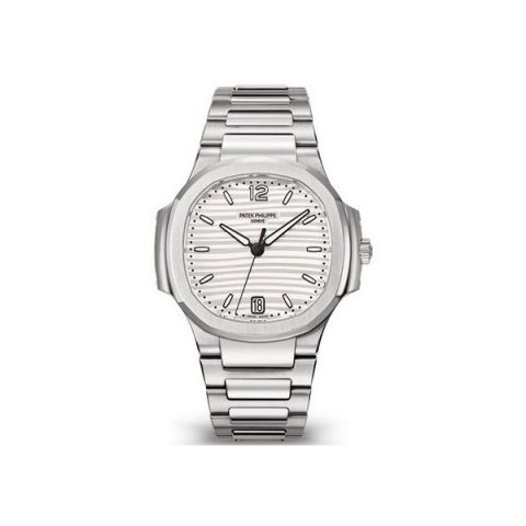PATEK PHILIPPE NAUTILUS STAINLESS STEEL 35MM LADIES WATCH Ref. 7118/1A-010