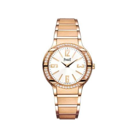 PIAGET POLO DIAMOND 32MM 18KT ROSE GOLD LADIES WATCH