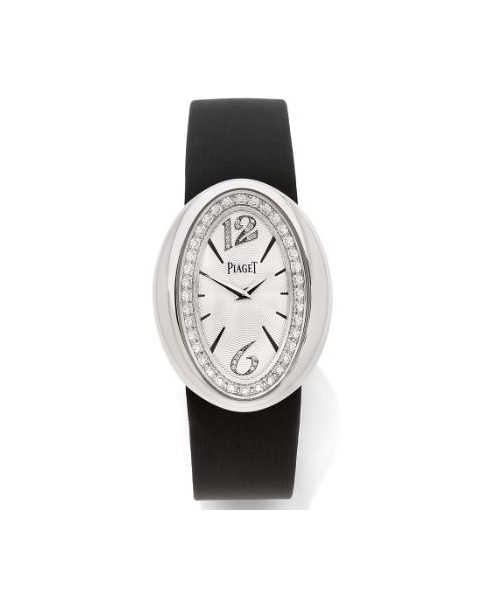 PIAGET MAGIC HOUR 31MM X 40MM 18KT WHITE GOLD WITH DIAMONDS LADIES WATCH