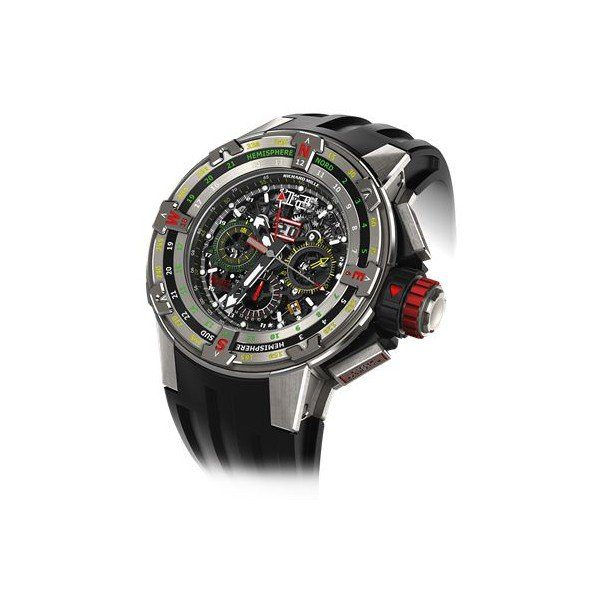 RICHARD MILLE REGATTA FLYBACK CHRONOGRAPH TITANIUM 50MM MEN'S WATCH