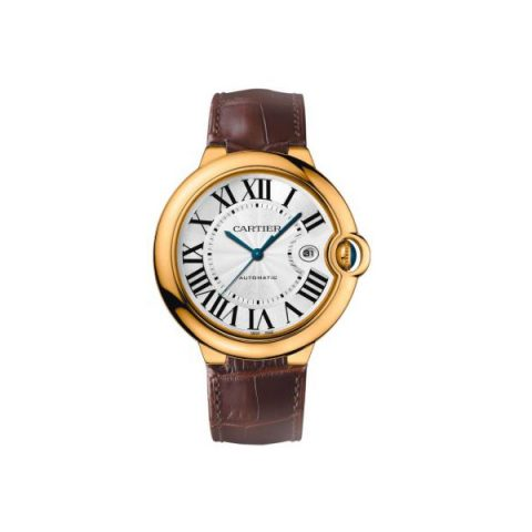 CARTIER BALLON BLEU 18KT YELLOW GOLD 42MM MEN'S WATCH