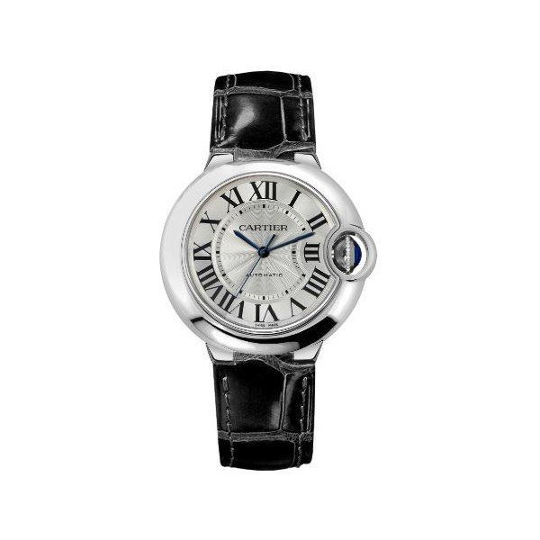 CARTIER BALLON BLEU STAINLESS STEEL 36MM LADIES WATCH