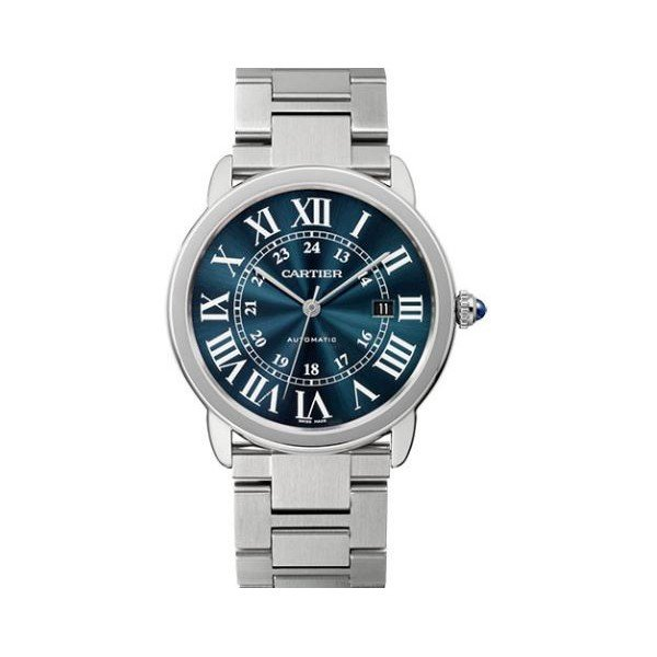 CARTIER RONDE SOLO STEEL 42MM STAINLESS STEEL MEN'S WATCH