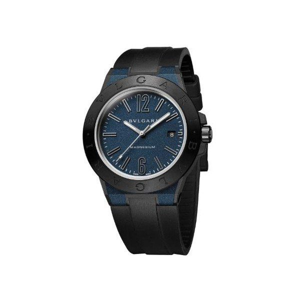 BVLGARI DIAGONO MAGNESIUM CERAMIC 41MM MEN'S WATCH