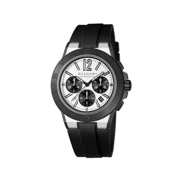 BVLGARI DIAGONO MAGNESIUM 42MM MEN'S WATCH