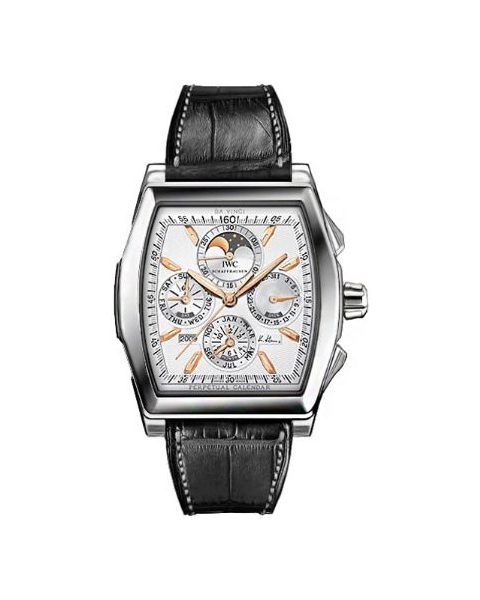 IWC DA VINCI PERPETUAL CALENDAR LIMITED EDITION OF 3000 PIECES STAINLESS STEEL 51MM MEN'S WATCH
