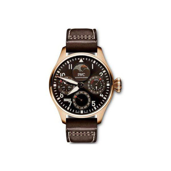 IWC BIG PILOT PERPETUAL CALENDAR LATIN AMERICA LIMITED EDITION OF 50 PIECES 46.2MM MEN'S WATCH