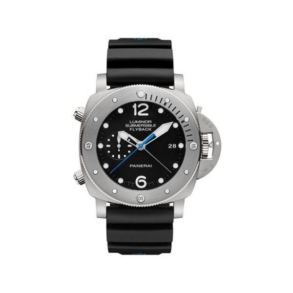 PANERAI LUMINOR SUBMERSIBLE 1950 3 DAYS CHRONO FLYBACK TITANIUM 47MM MEN'S WATCH