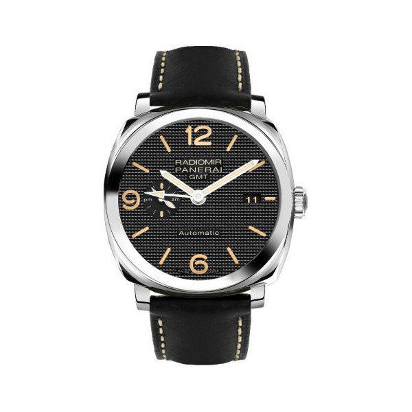 PANERAI RADIOMIR 1940 3 DAYS GMT AUTOMATIC ACCIAIO STAINLESS STEEL 45MM MEN'S WATCH