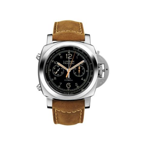 PANERAI LUMINOR 1950 FLYBACK CHRONOGRAPH STAINLESS STEEL 44MM MEN'S WATCH