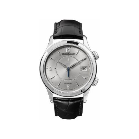 JAEGER LECOULTRE MASTER MEMOVOX STAINLESS STEEL 40MM MEN'S WATCH