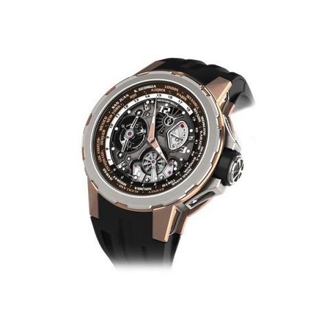 RICHARD MILLE TOURBILLON WORLD TIMER JEAN TODT MEN'S WATCH