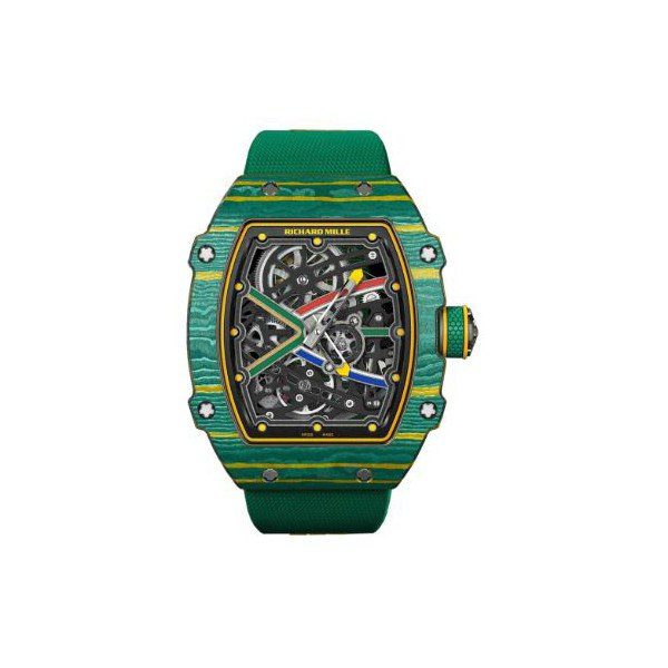 RICHARD MILLE HIGH JUMP AND SPRINT CARBON TPT 38.70MM x 47.52MM MEN'S WATCH