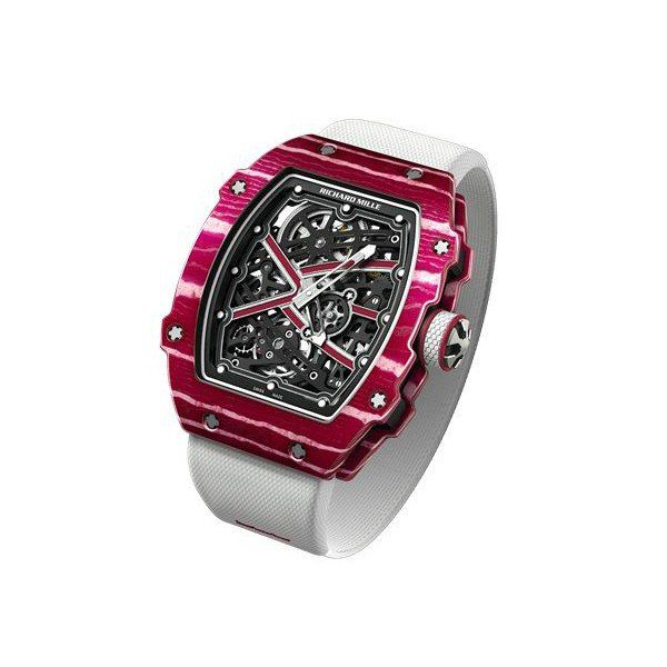 RICHARD MILLE HIGH JUMP MUTAZ ESSA BARSHIM 38.70MM MEN'S WATCH