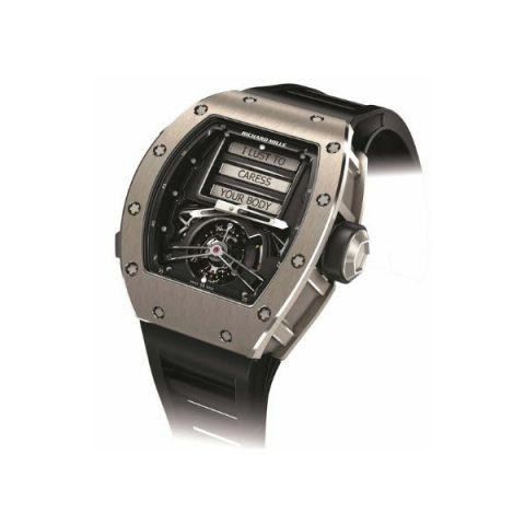 RICHARD MILLE EROTIC TOURBILLON LIMITED EDITION OF 30 PIECES MEN'S WATCH