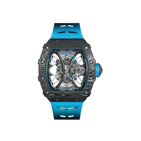 RICHARD MILLE TOURBILLON PABLO MAC DONOUGH LIMITED EDITION CARBON TPT 44.5MM X 49.94MM MENS WATCH