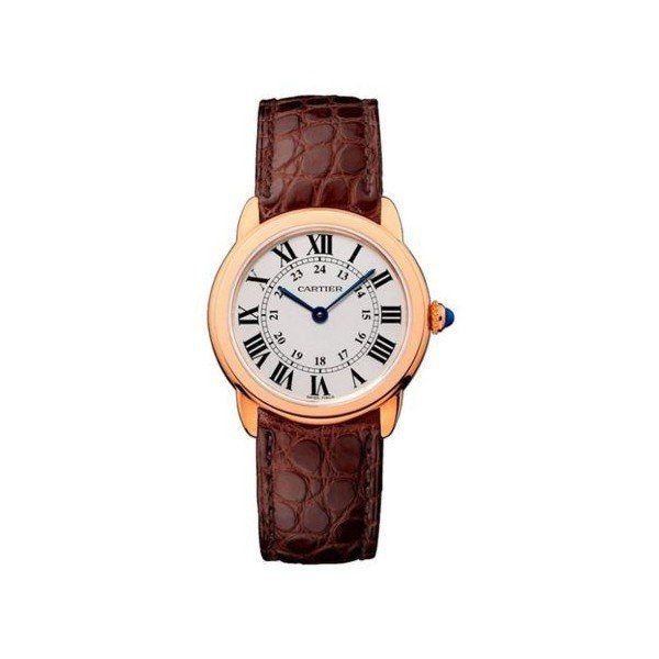 CARTIER RONDE SOLO 18KT ROSE GOLD 29MM LADIES WATCH