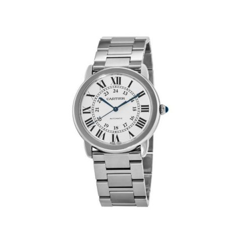 CARTIER RONDE SOLO STAINLESS STEEL 36MM LADIES WATCH