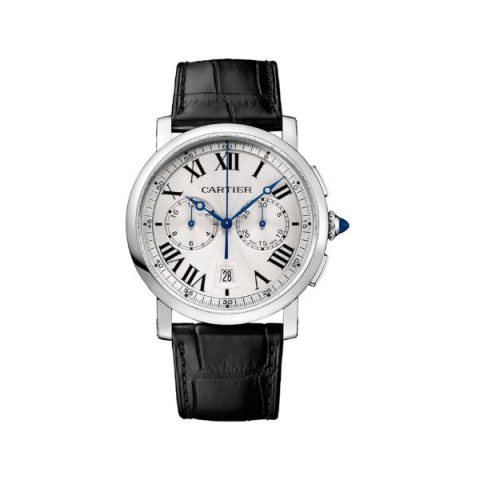 CARTIER ROTONDE DE CARTIER CHRONOGRAPH STAINLESS STEEL 40MM MEN'S WATCH