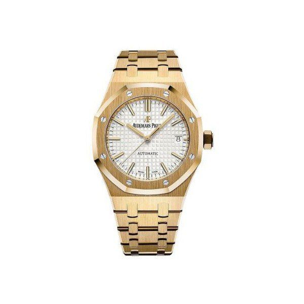 AUDEMARS PIGUET ROYAL OAK 37MM 18KT YELLOW GOLD LADIES WATCH