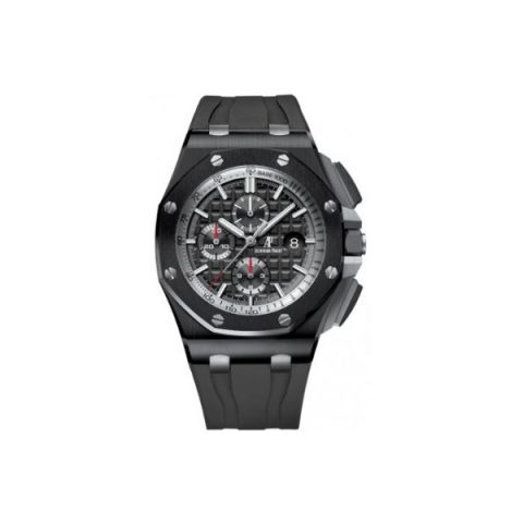 AUDEMARS PIGUET ROYAL OAK 44MM BLACK CERAMIC MEN'S WATCH