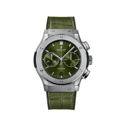 HUBLOT CLASSIC FUSION CHRONOGRAPH 45MM MENS WATCH