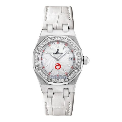 AUDEMARS PIGUET ROYAL OAK LADY QUARTZ 33MM STAINLESS STEEL ALINGHI LIMITED EDITION LADIES WATCH