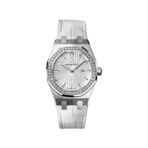 AUDEMARS PIGUET ROYAL OAK QUARTZ 33MM STAINLESS STEEL LADIES WATCH