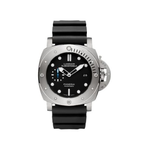 PANERAI LUMINOR SUBMERSIBLE 1950 3 DAYS AUTOMATIC 47MM TITANIUM MEN'S WATCH