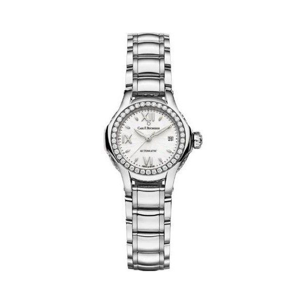 CARL F. BUCHERER PATHOS PRINCESS 25MM STAINLESS STEEL LADIES WATCH