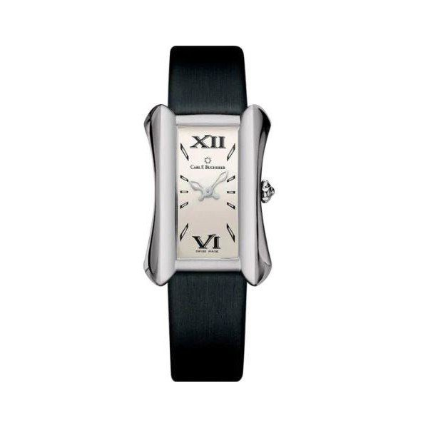 CARL F. BUCHERER ALACRIA QUEEN 26.5MM X 38MM STAINLESS STEEL LADIES WATCH