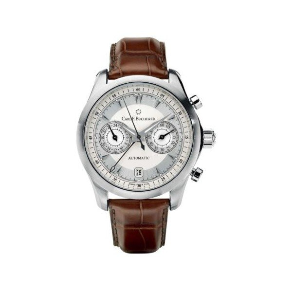 CARL F. BUCHERER MANERO CENTRAL CHRONOGRAPH 40MM STAINLESS STEEL MEN'S WATCH