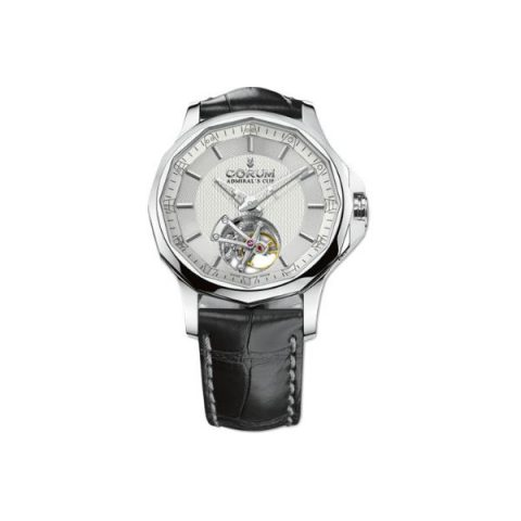 CORUM ADMIRAL'S CUP LEGEND 42 TOURBILLON MICRO-ROTOR 42MM STAINLESS STEEL MEN'S WATCH