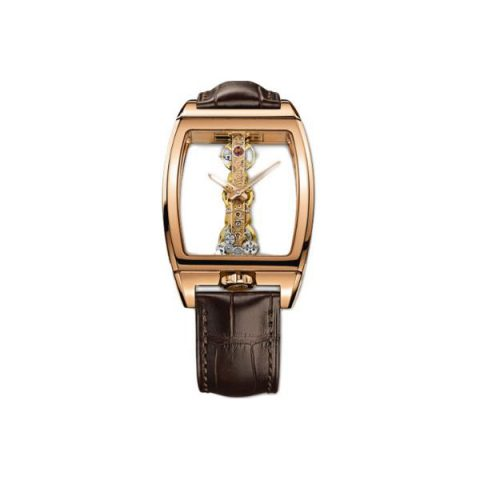 CORUM GOLDEN BRIDGE 34MM X 51MM 18KT ROSE GOLD MEN'S WATCH